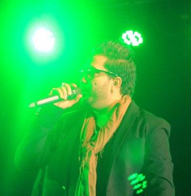 Mika Singh in Nepal