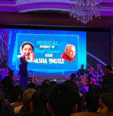 Asha Bhosle in Nepal